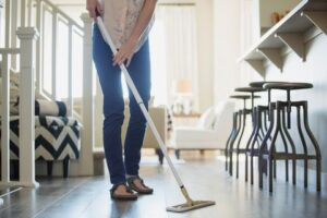 Clean the mess before you move out