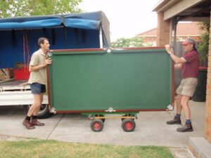 Call out professional pool table removalists before its too late