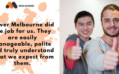 Moving Testimonials | Amazing Office Removals Experience With Mover Melbourne