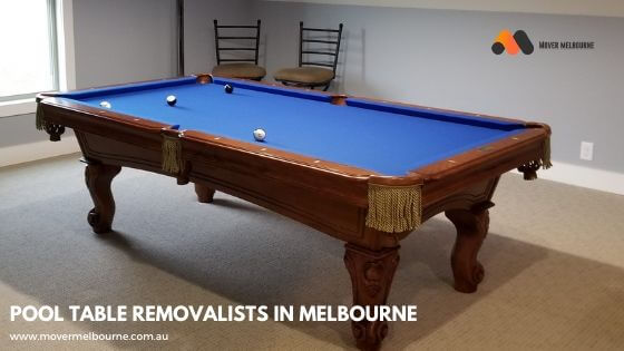 Pool Table Removalists in Cheltenham Melbourne